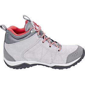Columbia Fire Venture Mid Waterproof Shoes Women Steam/Sunset Red